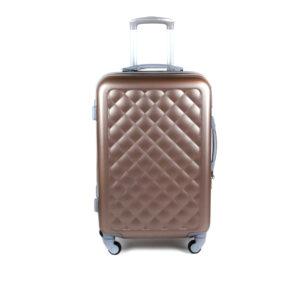 cestovný kufor HACHI stredný hnedý 013HS