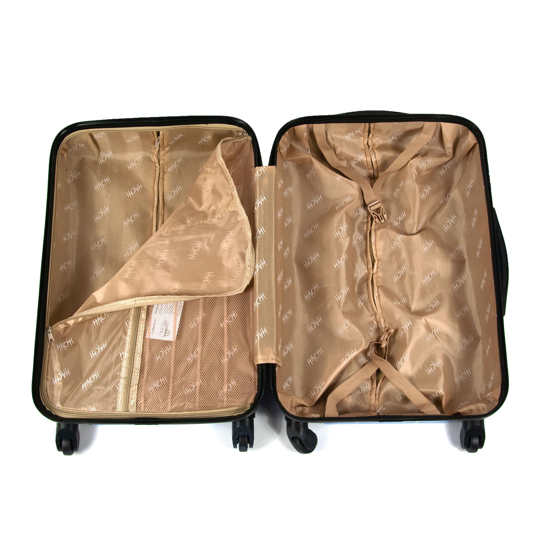 cestovný kufor HACHI stredný modrý 013MS