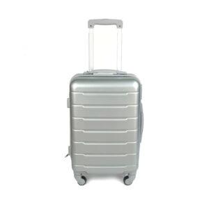 cestovný kufor HACHI malý sivý 017SM
